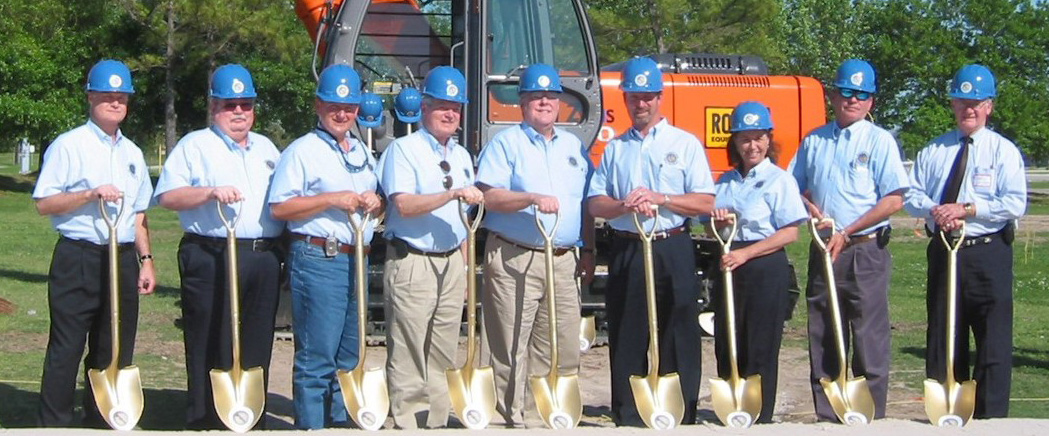 Groundbreaking Ceremony - March 30, 2004