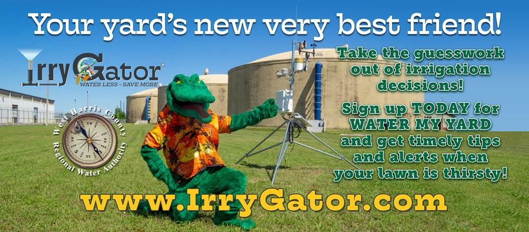 Irry Gator - Water My Yard