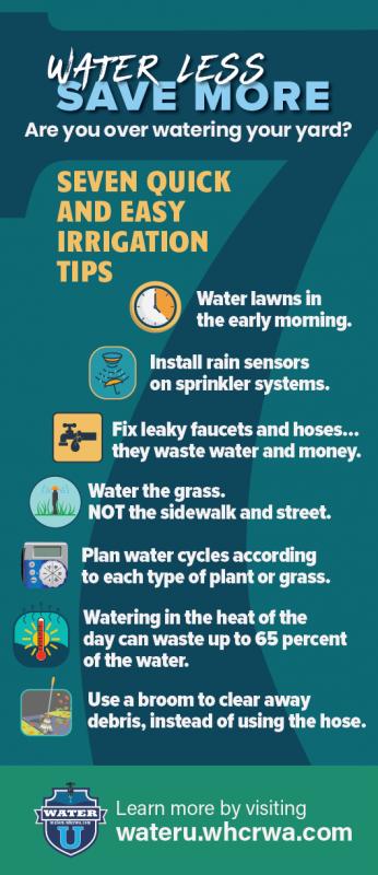 Seven Irrigation Tips