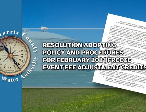 Resolution Adopting Policy for Freeze Event Fee Adjustment
