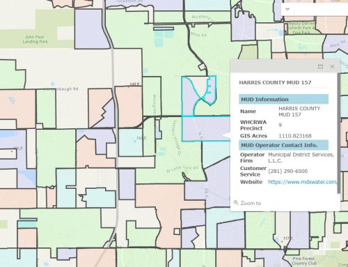 Find Your Water Provider Update