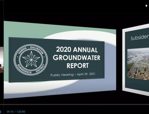 HGSD 2020 Annual Groundwater Report presentation